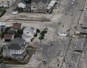 Hurricane Sandy flood damage on the Jersey Shore | flood insurance