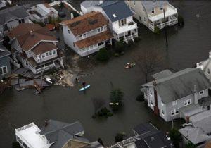 Sandy flooding in Belmar | storm damage insurance claims