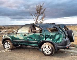 Hurricane Sandy vehicle damage car insurance