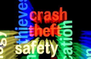Crash theft safety